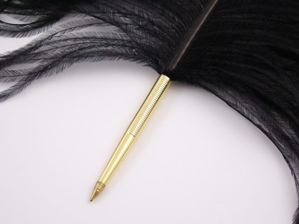 Ostrich Deluxe Ballpoint Pen - Dark Colours