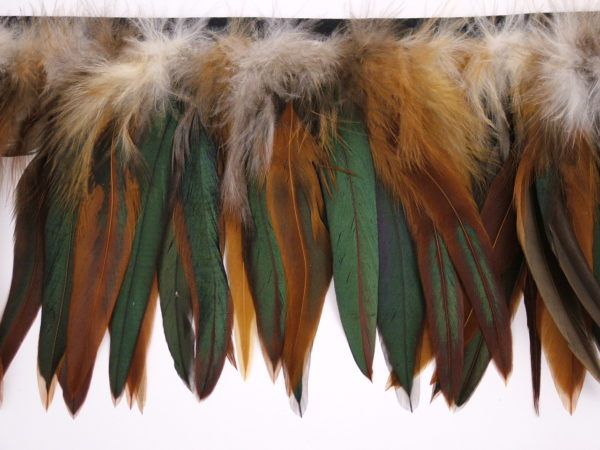 Schlappen Feather Fringe per metre
